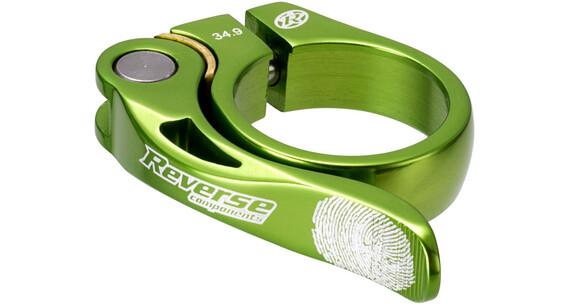 Reverse Long Life Zadelklem 34,9mm groen